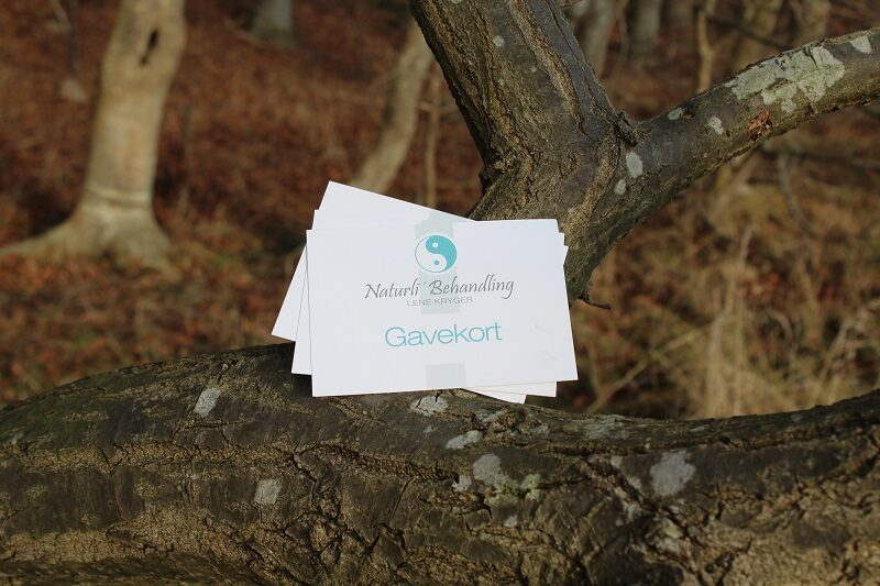 Gavekort til Naturlig' Behandling i Næstved v. Lene Kryger